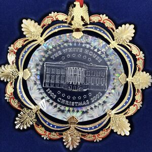 The White House Historical Association Christmas Holiday Ornament 2002