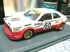 VW Volkswagen Scirocco 1 MKI Gr.2 ETCC Stocker #60 Racing NEO Resin RAR 1:43