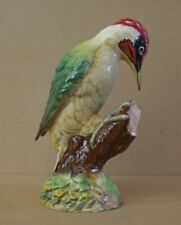 ### SUPER VINTAGE BESWICK LARGE GREEN WOODPECKER 1218 SECOND VERSION ###