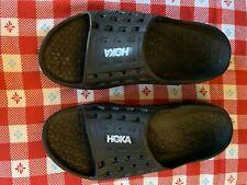 Hoka One One ORA Black Comfort Recovery Slide Sandals Women's 9 Men's 7