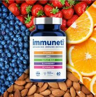 Immuneti Nutrition Inc Advanced Defense Capsule - 60 Count (With Vitamin D3)