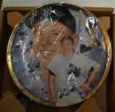 Mickey Mantle 1992 Hamilton Collection Best Of Baseball Plate #535