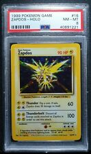Pokemon - Zapdos Set Base - Holo - PSA 8 NM-MT