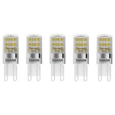 OSRAM LED BASE PIN 20 G9 1,9W=20W 200lm 300° warm weiß 2700K nondim A++ 5er-Pack