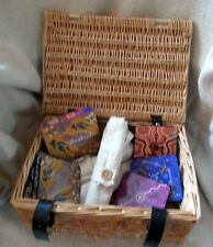 Wicker Case Picnic Hamper .Handy Compact Size .Good condition .Very clean.