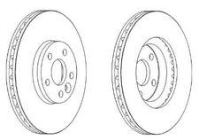 Ferodo Premier Brake Discs pair of - DDF1567C