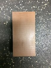 """DELRIN RESIN plate 1"""" x 2"""" wide x 4"""" long"""