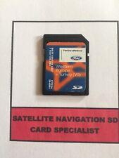 Originale Ford NX Touch Screen Navigatore Satellitare Navigazione SD Card UK