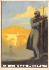 A2725) DIVISIONE DI FANTERIA DEL PASUBIO. ILLUSTRATORE BOCCASILE (?) VG 1935.