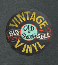 """Vintage Vinyl Record Album """" Buy and Sell""""  Advertising T-Shirt"""