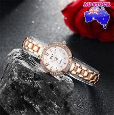 Ladies Watch 18K Gold Flower Dial With  Swarovski Diamond