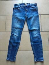 CYCLE SKINNY BLUE JEANS DONNA COTONE 100% MADE IN ITALY PERFETTO STATO tg. 30