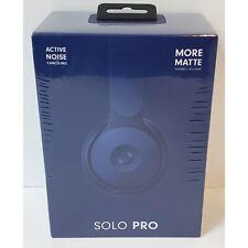 Beats by Dr. Dre Solo Pro On Ear Wireless Headphones (A1881) - Dark Blue (New!)