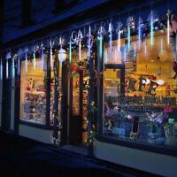 LED Solar Lights Meteor Shower Rain 8 Tube Tree Light Christmas Xmas decorations