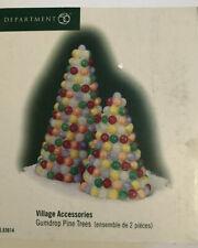 Department 56 Village Accessories Gumdrop Pine Trees 56.53614