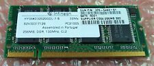 Sun Microsystems SunPCi III 256MB SODIMM Memory Expansion 370-5463 X7066A