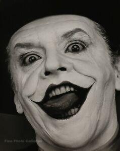 1988 Vintage HERB RITTS Batman Movie JOKER Jack Nicholson Actor Photo Engraving