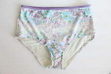 American Eagle Aerie Bikini Bottom sz Large Swim Suit High Rise NEW floral AE