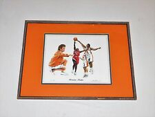 "Pat Summitt Tennessee Lady Vols Basketball ""Awesome Ladies"" 1996 Lithograph Art"