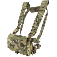 Viper VX Buckle Up Airsoft Tactical Modular Utility Pouch Chest Rig Vest V-Cam