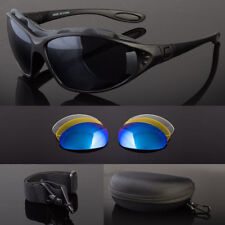 New Wind Resistant Sunglasses Extreme Sports Motorcycle Riding Glasses Kit Lens