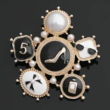 New Style Women's Fashion Enamels Brooch Luxury Jewelry Pins Girls Star Brooches