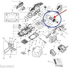 [HOM] [230122001] RIDGID Motor Assembly 18VDC 4.6A Johnson  R848 Cordless Planer