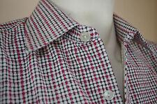 NOS TRUE VINTAGE 80er LEONARDO Herrenhemd DDR Karo langarm Hemd Shirt GDR 80s