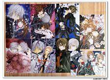 Vampire Knight Manga Lot de 8 Cartes Postal IV ヴァンパイア骑士