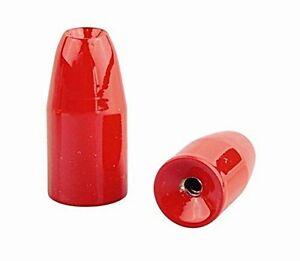 DAM Effzett Bullet Weights Texas/Carolina Bullet Sinkers 10 gramm Rot
