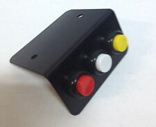 TRIPLE  MOMENTARY PUSH BUTTONS WITH PLATE