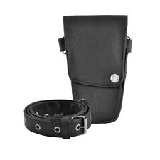 Hairdressing Pouch, Scissor Holster with Belt, Hair Kit Accessories in Black