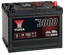 Yuasa YBX3068 Standard Battery