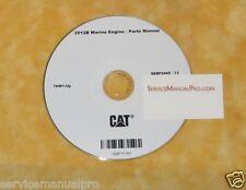 SEBP2445 New CAT Caterpillar 3512B Marine Engine Parts Manual Book
