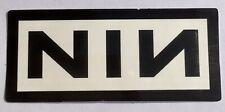 Nine Inch Nails Sticker Decal Rock Music NIN