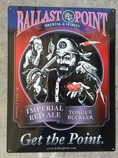 Ballast Point Tongue Buckler Red Ale Pirate Ship Beer Brewery Bar Steel Sign