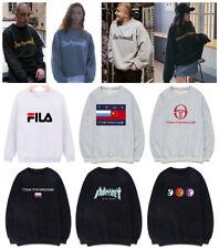 Gosha Rubchinskiy Hoody Flag Logo Long Sleeve Sweatshirts Hoodies Herren Damen