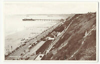 Dorset - Boscombe, Promenade and Pier - Vintage Valentine's Postcard