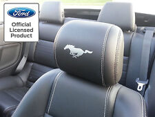 2005-2009 FORD MUSTANG HEADREST SOLID PONY DECALS - ONLY LEATHER SEATS 05-09