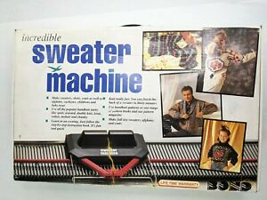 Bond Incredible Sweater Machine Knitting Machine, Made in England
