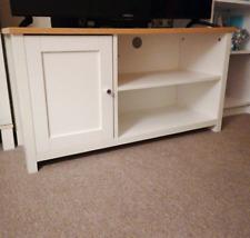 Storage Cabinet Sideboard Wooden Cupboard White
