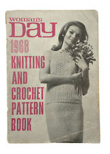 Womans Day 1968 Knitting and Crochet Pattern Book
