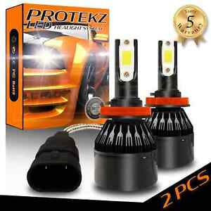 Protekz LED HID Headlight Conversion kit 9012 6000K for 2011-2015 Chrysler 200