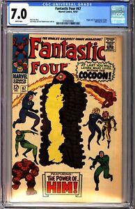 Fantastic Four 67 CGC 7.0 White 1st Appearance of Him Adam Warlock