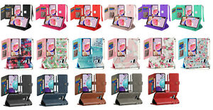 For LG Rebel K31 L355DL Deluxe Wallet Pouch Case Phone Cover