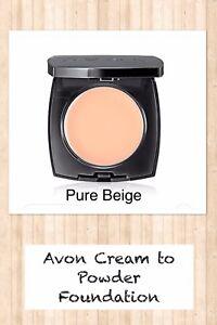 Avon Flawless Cream To Powder Foundation PURE BEIGE