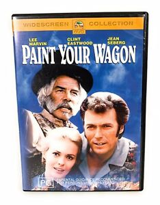 Paint Your Wagon (DVD, 2003) Clint Eastwood Region 4 Free Postage
