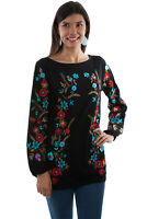 Scully Women's Embroidered Tunic HC498