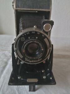 Rollfilmkamera; Klappkamera;Voigtländer ; Bessa;Voigtar 1 : 6,3 ; F 10,5 cm