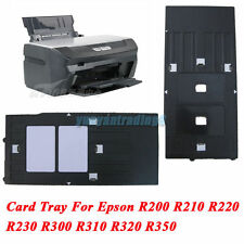 Plastic ID Card Printing Tray For Epson Inkjet Printer R200 R210 R220 R230 R300